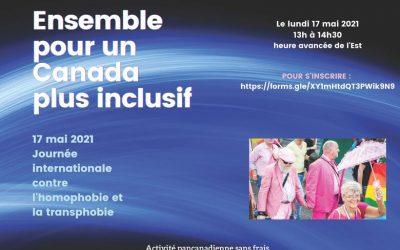 17 mai – Journée internationale contre l'homophobie, la transphobie