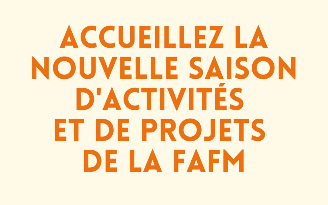 Projets de la FAFM
